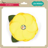 3D Flower 10