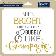 She's Bright Like Glitter