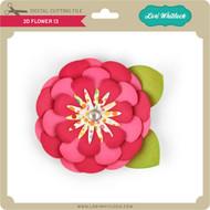 3D Flower 13