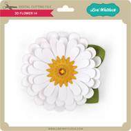 3D Flower 14