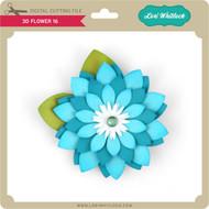 3D Flower 16