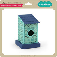 Birdhouse Slanted Roof