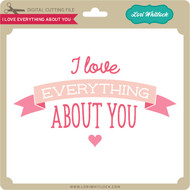 I Love Everything About You Banner