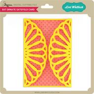 5x7 Ornate Gatefold Card