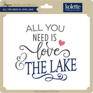All You Need is Love Lake