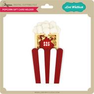 Popcorn Gift Card Holder