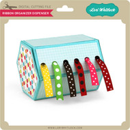 Ribbon Organizer Dispenser