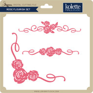 Rose Flourish Set