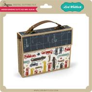 Hidden Binding Suitcase Mini Album