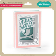 Thank You Shadow Box Card