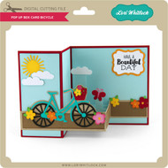Pop Up Box Card Bicycle