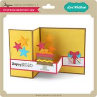 Pop Up Box Card Birthday Cake