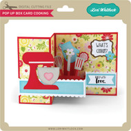 Pop Up Box Card Cooking