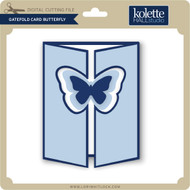 Gatefold Card Butterfly