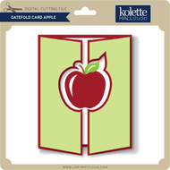 Gatefold Card Apple