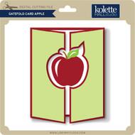 Gatefold Card Apple