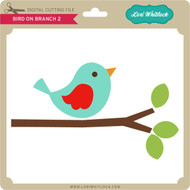Bird on Branch 2