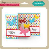 Pop Up Box Card Butterflies
