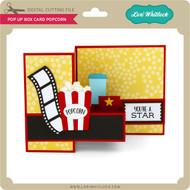 Pop Up Box Card Popcorn