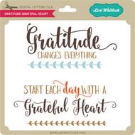 Gratitude Grateful Heart
