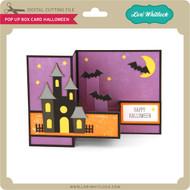Pop Up Box Card Halloween