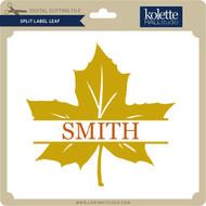 Split Label Leaf