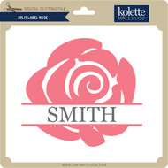 Split Label Rose