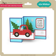 Pop Up Box Card Christmas Pickup