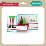 A2 Pop Up Box Card Elf