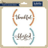 Thankful Blessed Wreath