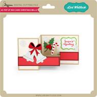 A2 Pop Up Box Card Christmas Bells
