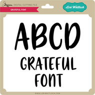Grateful Font