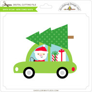 Santa in Car - Here Comes Santa