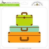 Suitcases - Flea Market