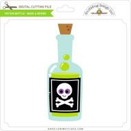 Potion Bottle - Boos & Brews