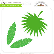 Palm Leaves - Fun in the Sun