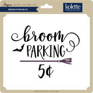Broom Parking 5 Cents
