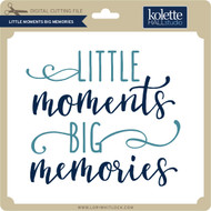Little Moments Big Memories