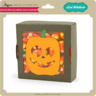 No Glue Box Halloween Jack o Lantern