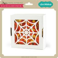 No Glue Box Halloween Spider Web