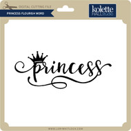 Princess Flourish Word