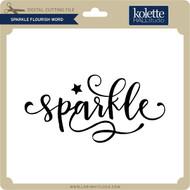Sparkle Flourish Word