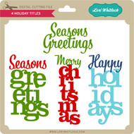 4 Holiday Titles