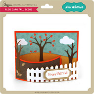 Flexi Card Fall Scene