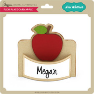 Flexi Place Card Apple