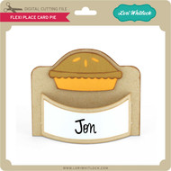 Flexi Place Card Pie