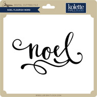 Noel Flourish Word