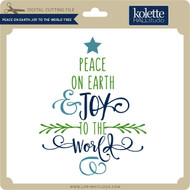 Peace on Earth Joy to the World Tree