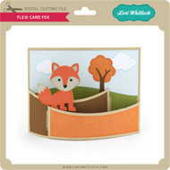 Flexi Card Fox