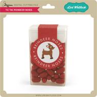 Tic Tac Reindeer Noses